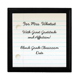 Teacher Appreciation Gift Box