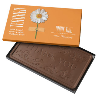 Teacher Appreciation Gift Chocolate 2 Pound Bar