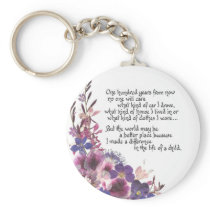 Teacher Appreciation Gift Keychain