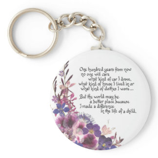Teacher Appreciation Gift Keychain