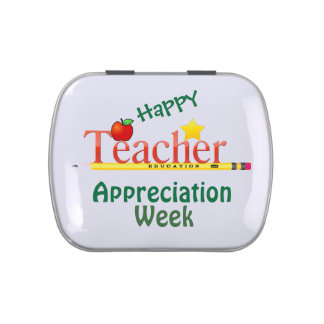 Teacher Appreciation Gift Tin with Mints Jelly Belly Tins