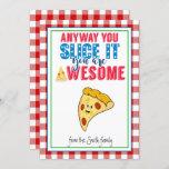 teacher appreciation pizza gift teacher gift CARD