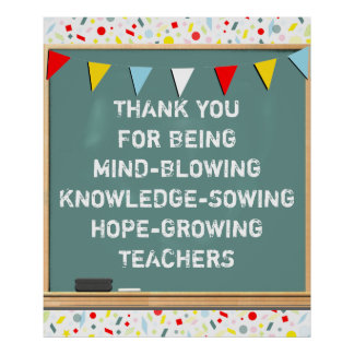 Teacher Appreciation Poster
