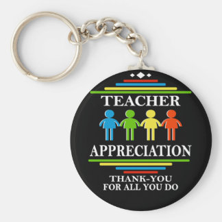 Teacher Appreciation Thank-You For All You Do Keychain