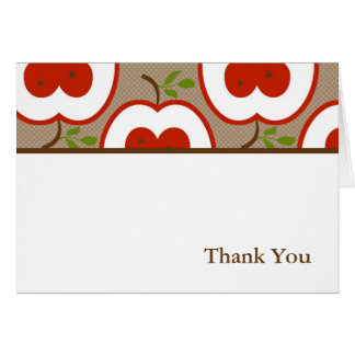Teacher Appreciation Thank You Notes Stationery Note Card