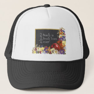Teacher appreciation trucker hat