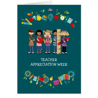 Teacher Appreciation Week Customizable Cards