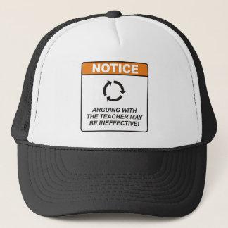 Teacher / Argue Trucker Hat