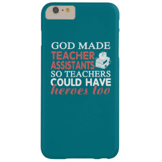 Teacher Assistant Barely There iPhone 6 Plus Case