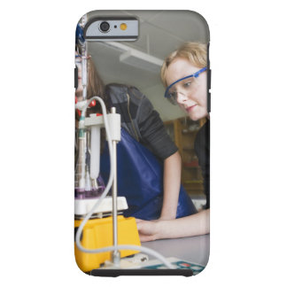 Teacher assisting student in laboratory tough iPhone 6 case