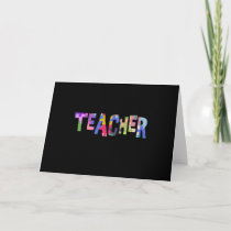Teacher Autism Teacher Autistic Students Card