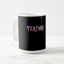 Teacher Autism Teacher Autistic Students Coffee Mug