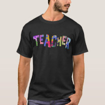 Teacher Autism Teacher Autistic Students T-Shirt