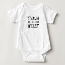 Teacher Back To School Teaching teacher gift Baby Bodysuit
