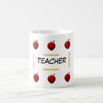Teacher back to school template Mug