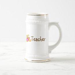 Teacher Bear Beer Stein