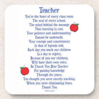 Teacher Beverage Coaster
