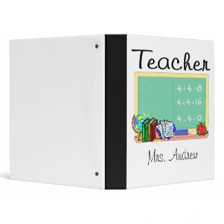 Teacher Binder binder