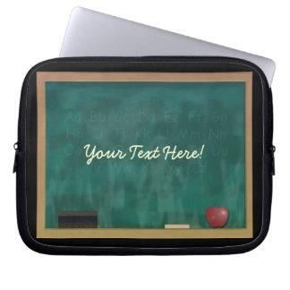 Teacher Blackboard Custom Electronics Sleeve Computer Sleeves