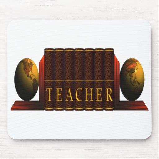 Teacher (books) mouse pads