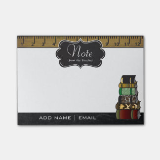 Teacher Books   Personalize Post-it® Notes