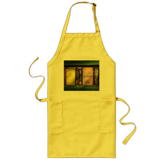 Teacher - Books you use in school Long Apron