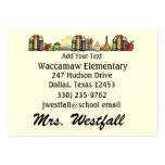 Teacher Business Card by SRF