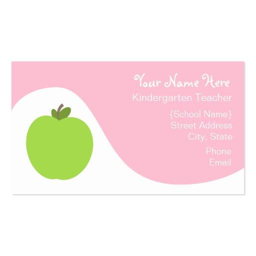 Teacher Business Card Templates Page10