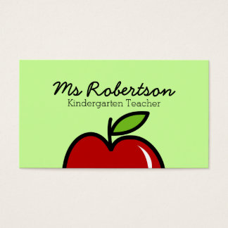kindergarten business cards templates zazzle