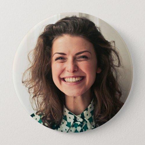 Teacher Button  Custom Photo