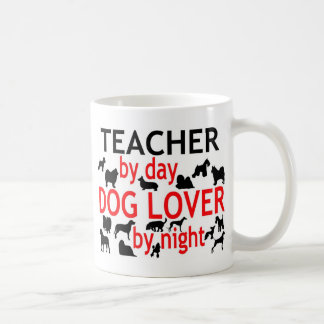 Teacher by Day Dog Lover by Night Mugs