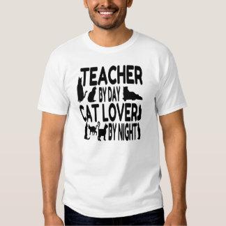 Teacher Cat Lover T-shirt