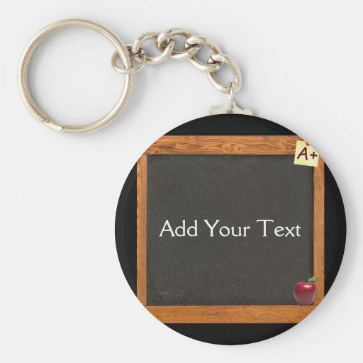 Teacher Chalkboard Keychains