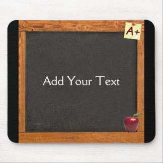Teacher Chalkboard Mouse Pad