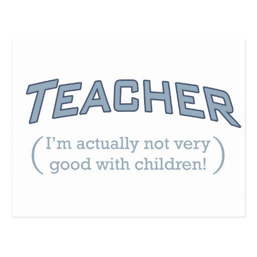 Teacher / Children Post Cards
