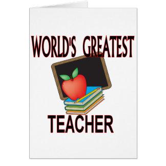 Teacher Christmas Gifts Card