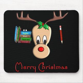 Teacher Christmas Reindeer--Adorable Gifts Mouse Pad