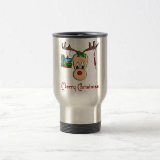 Teacher Christmas Reindeer--Adorable Gifts Travel Mug