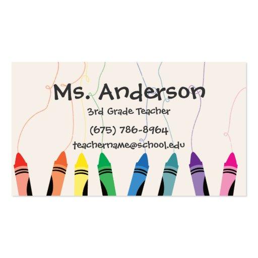 Teacher Business Cards, 5300+ Teacher Business Card Templates