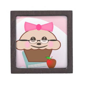 Teacher Cupcake Keepsake Box