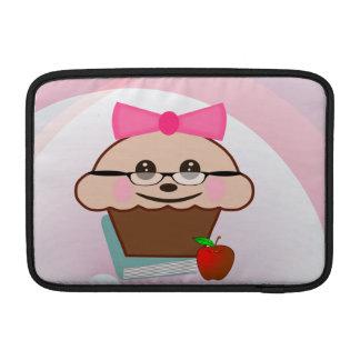 Teacher Cupcake MacBook Air Sleeve