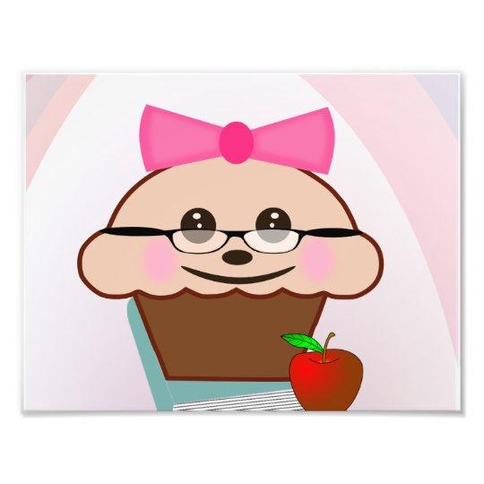 Teacher Cupcake Photo Print