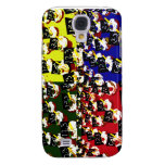 Teacher cupcake repeat pop art colours galaxy s4 cover