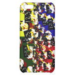 Teacher cupcake repeat pop art colours iPhone 5C covers
