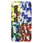 Teacher cupcake repeat pop art two invert case for iPhone 5C