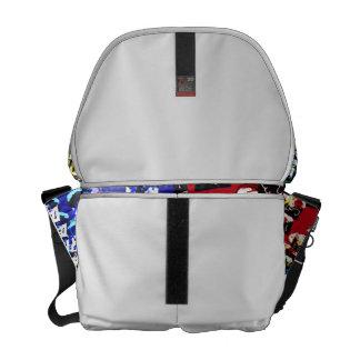 Teacher cupcake repeat pop art two invert courier bags