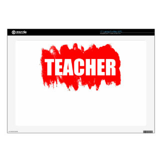 Teacher Decal For Laptop