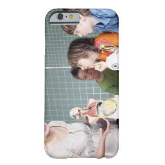 teacher demonstrating model of human body to barely there iPhone 6 case