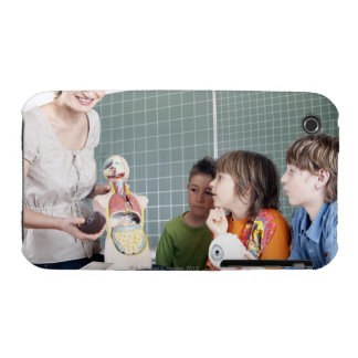 teacher demonstrating model of human body to Case-Mate iPhone 3 case