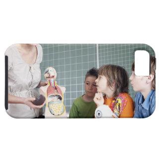 teacher demonstrating model of human body to iPhone SE/5/5s case